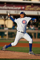April 7th 2010: Chris Archer of the Daytona Cubs, Florida State League High-A affiliate of the Chicago Cubs in the game against Embry-Riddle Aeronautical University at Jackie Robinson Ballpark in Daytona Beach, FL (Photo By Scott Jontes/Four Seam Images)