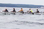 Port Townsend, Rat Island Regatta, June 03 2017, rowers, kayakers, standup paddlers, racing, Puget Sound, Olympic Peninsula, Washington State, Rat Island Rowing and Sculling Club, Fort Worden State Park,
