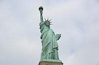 Statue of Liberty auf Liberty Island im Hafen von New York