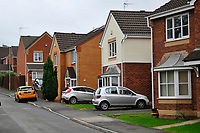 Pictured: The area where was Keith Morgan was living in Pontypridd, south Wales, UK.  Monday 15 October 2018<br /> Re: Conman Keith Morgan has been jailed for 8 and a half years at Cardiff Crown Court. He had claimed that he was one of the world's wealthiest men but instead he was living on benefits in rented accommodation in Pontypridd.