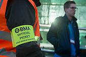 Junior doctors strike over new contract. University College Hospital, London.