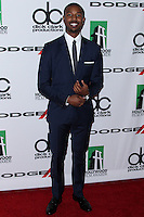 BEVERLY HILLS, CA - OCTOBER 21: Michael B. Jordan at 17th Annual Hollywood Film Awards held at The Beverly Hilton Hotel on October 21, 2013 in Beverly Hills, California. (Photo by Xavier Collin/Celebrity Monitor)