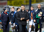 Dundee v St Johnstone…29.12.18…   Dens Park    SPFL<br />Jim McIntyre walks off at full time<br />Picture by Graeme Hart. <br />Copyright Perthshire Picture Agency<br />Tel: 01738 623350  Mobile: 07990 594431