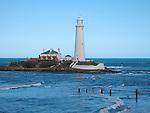 St Mary's Lighthouse, Whitley Bay, Tyneside, UK