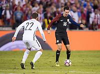 Washington, DC - October 11, 2016: The USMNT tied New Zealand 1-1 during their international friendly at RFK Stadium.