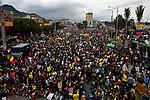 Protest against sexual assault by the police in Colombia