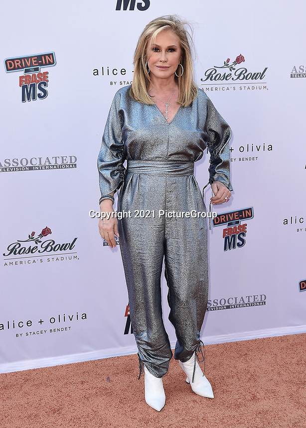 PASADENA, CA - JUNE 4:  Kathy Hilton at the 28th Annual Race to Erase MS Drive-In Gala at The Rose Bowl in Pasadena, Friday, June 4, 2021 (Photo by Scott Kirkland/PictureGroup)