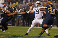 Penn State quarterback Trace McSorley. The Penn State Nittany Lions defeated the Pitt Panthers 51-6 on September 08, 2018 at Heinz Field in Pittsburgh, Pennsylvania.