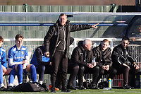 Aveley manager Keith Rowlands during Aveley vs Chelmsford City, Buildbase FA Trophy Football at Parkside on 8th February 2020