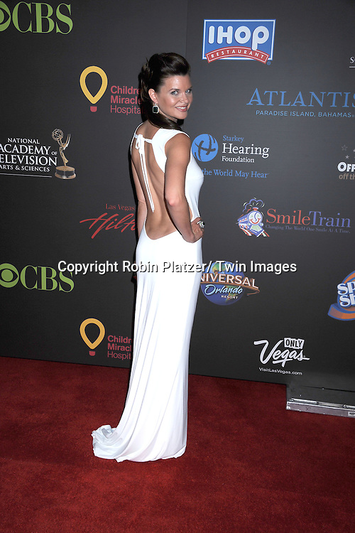 Heather Tom  arriving at the 38th Annual Daytime Emmy Awards  on June 19, 2011 at The Las Vegas Hilton in Las Vegas Nevada. ..