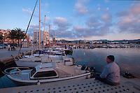 Spanien, Balearen, Ibiza, Hafen von Sant Antoni de Portmany