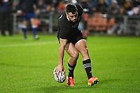 17th July 2021; Hamilton, New Zealand;  Will Jordan puts down for a try for New Zealand. All Blacks versus Fiji, Steinlager Series, international rugby union test match. FMG Stadium Waikato, Hamilton, New Zealand.