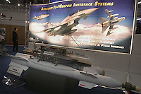 - stand of company EDO corporation (USA), military equipements and weapons; laser guided bomb....- stand della società EDO Corporation (USA), equipaggiamenti militari ed armamenti; bomba a guida laser