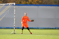 The Athletico Angels goalkeeper is seen during a Hackney & Leyton League match at Hackney Marshes - 15/11/09 - MANDATORY CREDIT: Gavin Ellis/TGSPHOTO - Self billing applies where appropriate - Tel: 0845 094 6026