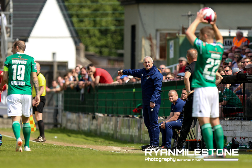 Cork City manager John Caulfield during the SSE Airtricity League Premier Division game between Cork City and Derry City on Monday 4th June 2018 at Turners Cross, Cork. Photo By Michael P Ryan
