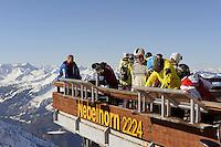 Gipfelstation des Nebelhorn bei  Oberstdorf im Allgäu, Bayern, Deutschland<br /> top station of  Mt.Nebelhorn near Oberstdorf, Allgäu, Bavaria, Germany