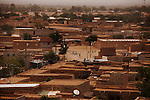 AGADEZ, NIGER — <br /> Agadez, is the largest city in central Niger with an estimated population of over 120,000 people. This city, comprised mainly of one-story mud structures, is situated on the southern outskirts of the Sahara desert and has been an important trade center for centuries. Tuareg and Berber tribes have traveled the many commercial routes that run through the desert for more than a thousand years. Today, this city has become one of the largest human smuggling and drug trafficking routes in West Africa. Thousands of migrants attempting to reach Europe are smuggled through the Sahara desert to Libya, Algeria and Morocco in their attempts to reach Italy and Spain.