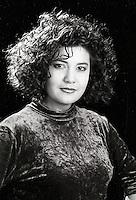 Montreal (qc) CANADA - file Photo - 1992 - <br /> Marcella Pizarro casting photo