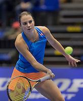 Rotterdam, Netherlands, December 18, 2016, Topsportcentrum, Lotto NK Tennis, Final,  Bibiane Schoofs (NED) <br /> Photo: Tennisimages/Henk Koster