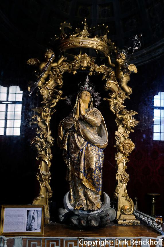 Madonna im Oratoire de l'immaculée Conception  in Bastia, Korsika, Frankreich