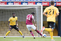 Ademipo Odubeko, West Ham U21's opens the scoring for the visitors during Southend United vs West Ham United Under-21, EFL Trophy Football at Roots Hall on 8th September 2020
