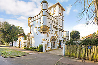 Quirky 116-year-old mini castle that has a tower roof terrace on the market for £925K
