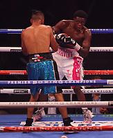 MINNEAPOLIS, MN - JUNE 27: Travon Marshall (2-0, 1 KO) defeated Ruben Torres (4-2, 1 KO) on the Fox Sports PBC fight at The Armory on June 27, 2021 in Minneapolis, Minnesota. (Photo by Carlos Gonzalez/Fox Sports/PictureGroup)