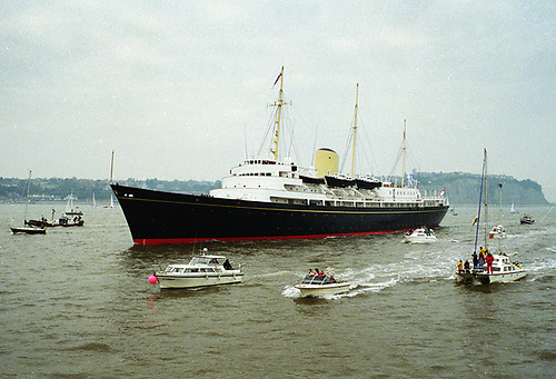 HMY Britannia's design – into which the Duke made a major input – was a statement of elegance in an era before ships carried excessive top hamper