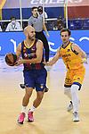 League ACB-ENDESA 2020/2021 - Game: 13.<br /> FC Barcelona Lassa vs Herbalife Gran Canaria: 91-63.<br /> Nick Calathes vs Frankie Ferrari.