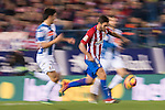 Koke (r) of Atletico de Madrid in action during the La Liga match between Atletico de Madrid and RCD Espanyol at the Vicente Calderón Stadium on 03 November 2016 in Madrid, Spain. Photo by Diego Gonzalez Souto / Power Sport Images