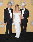 Patrick Duffy, Linda Gray, Larry Hagman attends the 18th Annual Screen Actors Guild Awards held at The Shrine Auditorium in Los Angeles, California on January 29,2012                                                                               © 2012 Hollywood Press Agency