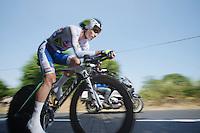 Daryl Impey (ZAF)<br /> <br /> Tour de France 2013<br /> stage 11: iTT Avranches - Mont Saint-Michel <br /> 33km