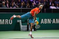Rotterdam, The Netherlands, Februari 9, 2016,  ABNAMROWTT, Gael Monfils (FRA)<br /> Photo: Tennisimages/Henk Koster