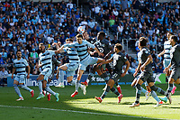 ST. PAUL, MN - AUGUST 21: Minnesota United FC and Sporting Kansas City battle during a game between Sporting Kansas City and Minnesota United FC at Allianz Field on August 21, 2021 in St. Paul, Minnesota.