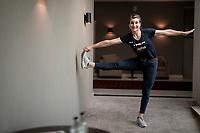 editorial portrait of Elisa Longo Borghini (ITA/Trek-Segafredo) ahead of the 2020 Ronde van Vlaanderen<br /> <br /> ©kramon