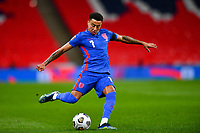 25th March 2021; Wembley Stadium, London, England;  Jesse Lingard England shoots on goal during the World Cup 2022 Qualification match between England and San Marino at Wembley Stadium in London, England.