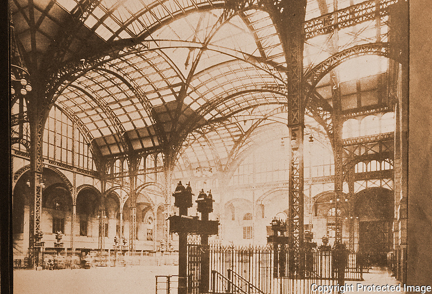 New York History:  Pennsylvania Station, 1910-1963.  Silver, LOST NEW YORK, p. 37.  Photo 1977.