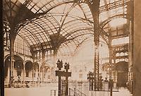 New York History:  Pennsylvania Station, 1910-1963.  Silver, LOST NEW YORK, p. 37.  Photo 1977.