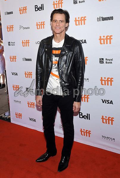 "11 September 2017 - Toronto, Ontario Canada - Jim Carrey. 2017 Toronto International Film Festival - ""Jim & Andy: The Great Beyond"" Premiere held at Princess of Wales Theatre. Photo Credit: Brent Perniac/AdMedia"