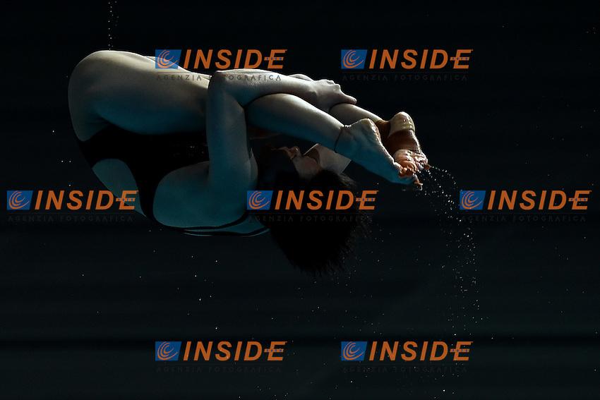 SHI Tingmao CHN Gold Medal <br /> Day9 01/08/2015 Aquatics Center<br /> Diving - Tuffi / Women's Springboard 3m Final - Trampolino 3m Donne Finale <br /> XVI FINA World Championships Aquatics  <br /> Kazan Tatarstan RUS <br /> Photo Andrea Staccioli/Deepbluemedia/Insidefoto
