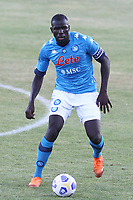 Kalidou Koulibaly of SSC Napoli<br /> during the friendly football match between SSC Napoli and SS Teramo Calcio 1913 at stadio Patini in Castel di Sangro, Italy, September 04, 2020. <br /> Photo Cesare Purini / Insidefoto