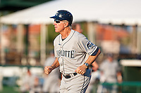 Jim Morrison (2) of manager of the Charlotte Stone Crabs during a game vs. the Daytona Cubs June 1 2010 at Jackie Robinson Ballpark in Daytona Beach, Florida. Charlotte won the game against Jupiter by the score of 4-1.  Photo By Scott Jontes/Four Seam Images