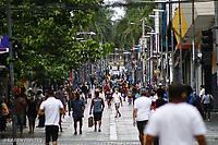 Campinas (SP), 02/01/2021 - Comércio-SP - Movimentação na região central de Campinas, interior de São Paulo, neste sábado (02), segundo dia da fase vermelha do Plano São Paulo.