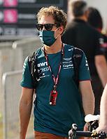 12th September, September 2021; Nationale di Monza, Monza, Italy; FIA Formula 1 Grand Prix of Italy, Race day; Sebastian Vettel DEU 5, Aston Martin Cognizant Formula One Team