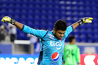 Harrison, NJ - Thursday Sept. 15, 2016: Oscar Arroyo prior to a CONCACAF Champions League match between the New York Red Bulls and Alianza FC at Red Bull Arena.