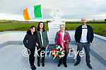 Pictured at the commemoration of the death of Jack Sheehan, Coilbee, Moyvane who was killed on May 26th 1921 were his niece Betty Woulfe, Athea and his grand niece Lily Somers  & great grand niece Shauna Somers with her father Tim Somers.