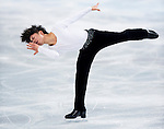 Tatsuki Machida of Japan competes during Figure Skating Men's Short Program of the 2014 Sochi Olympic Winter Games at Iceberg Skating Palace on February 12, 2014 in Sochi, Russia. Photo by Victor Fraile / Power Sport Images