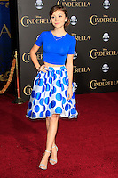 """LOS ANGELES - MAR 1:  G. Hannelius at the """"Cinderella"""" World Premiere at the El Capitan Theater on March 1, 2015 in Los Angeles, CA"""