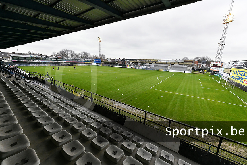 Pierre Cornelisstadion pictured before a female soccer game between Eendracht Aalst and Standard Femina de Liege on the 11 th matchday of the 2020 - 2021 season of Belgian Scooore Womens Super League , Saturday 23 of January 2021  in Aalst , Belgium . PHOTO SPORTPIX.BE | SPP | STIJN AUDOOREN