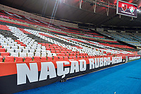 Rio de Janeiro (RJ), 15/07/2020 - Flamengo-Fluminense - Partida entre Flamengo e Fluminense, válida pela final do Campeonato Carioca 2020, no Estádio Jornalista Mário Filho (Maracanã), na zona norte do Rio de Janeiro, nesta quarta-feira (15).